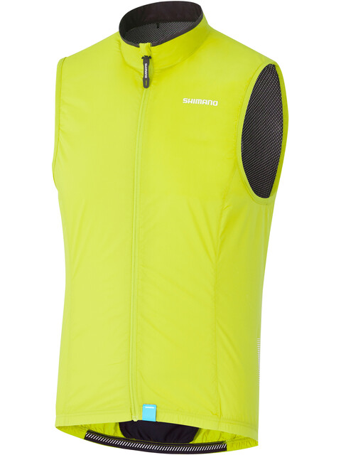 Shimano Compact Wind Vest Men neon yellow